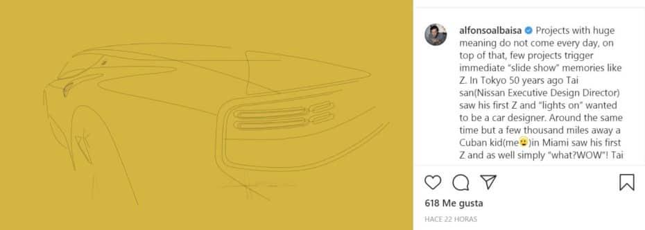 ¿Podría ser esta la trasera del nuevo Nissan Z?