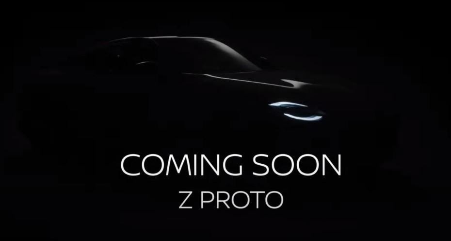 El Nissan Z Proto ya tiene fecha de presentación: anota el 16 de septiembre en tu agenda