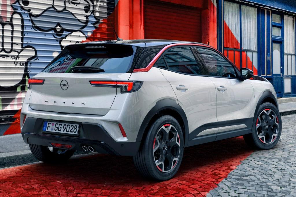 Opel Mokka Tavaratila