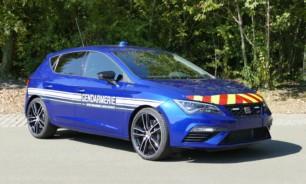 El SEAT León Cupra ya forma parte de la Gendarmería Francesa