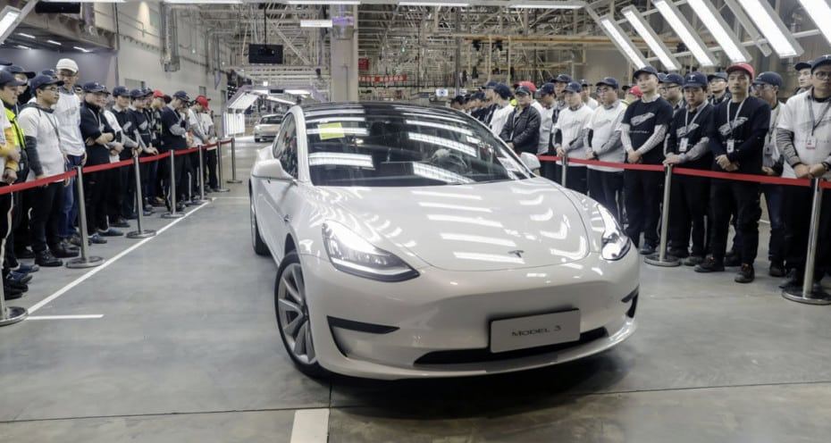 Los Tesla Model 3 para Europa se producirán en China