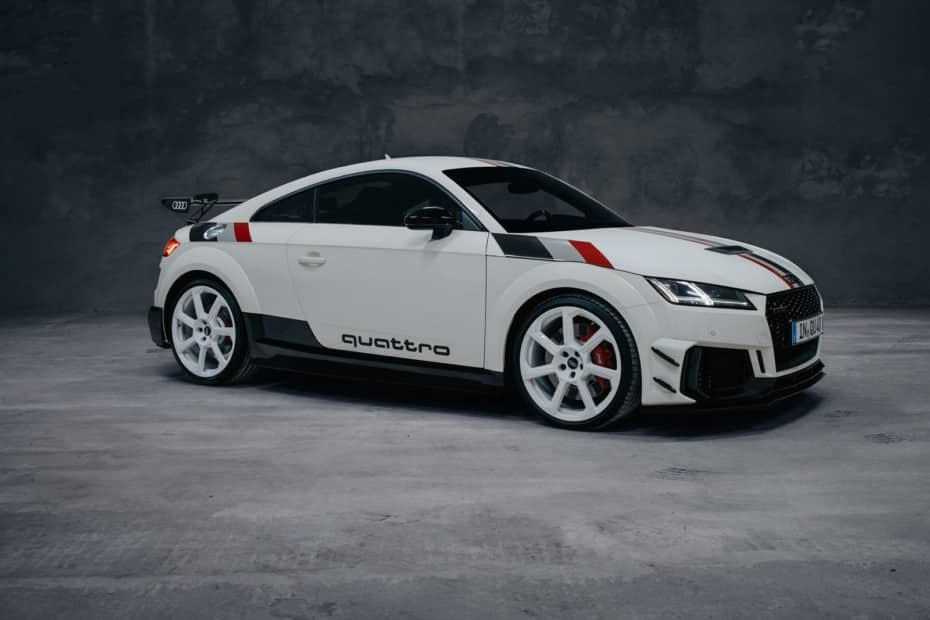 Audi TT RS 40 aniversario quattro: 40 unidades a precio de RS6 Avant