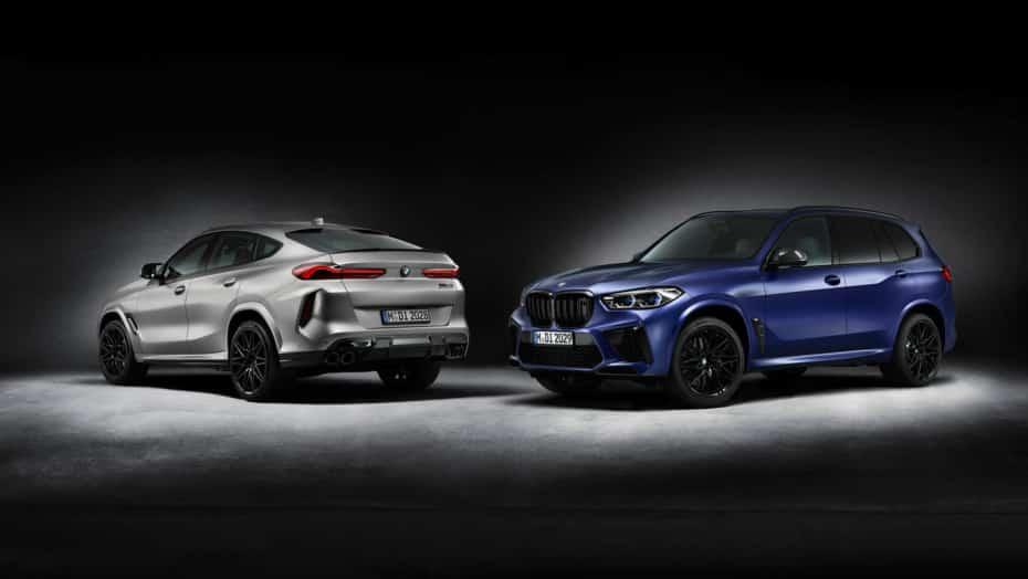 BMW X5 M y X6 M Competition First Edition 2020: La edición especial de lanzamiento llega tarde