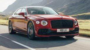 La mecánica V8 llega al Bentley Flying Spur 2020 con 550 CV