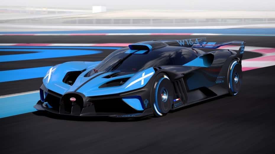 Bugatti Bolide: más de 500 km/h y un motor W16 de 8.0 litros con 1.850 CV
