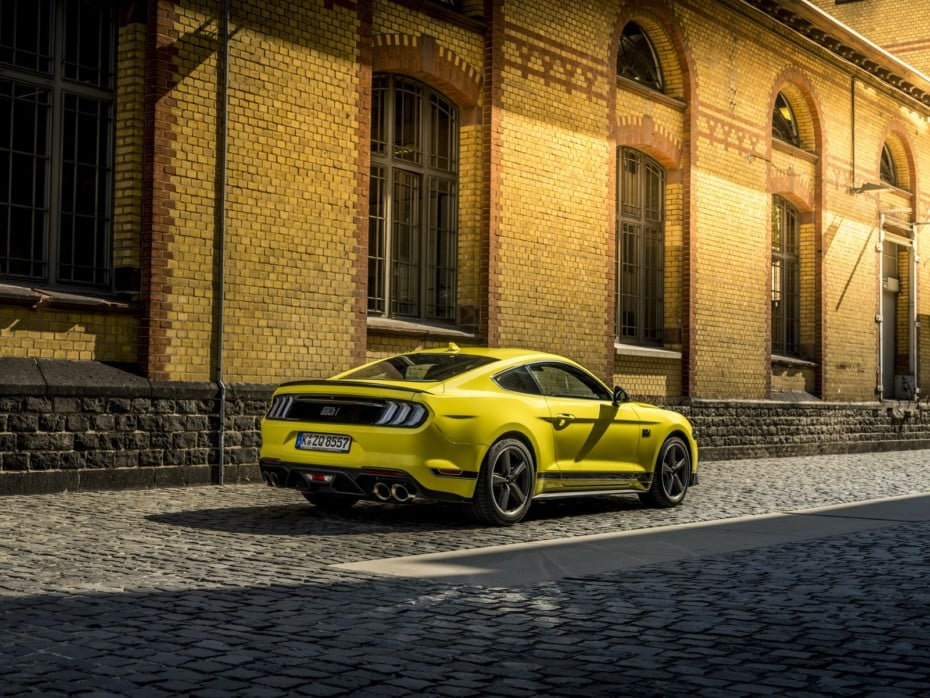 Ford Mustang Mach 1: mayor rendimiento y mejor dinámica también para Europa