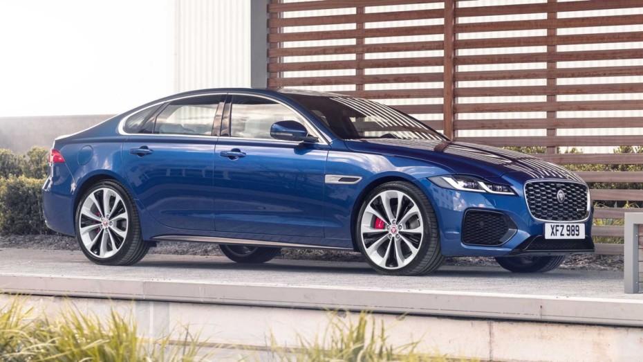 ¡Oficial! Jaguar XF 2021: Más elegante, tecnológico y eficiente
