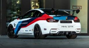 Manhart MH4 GTR: El BMW M4 DTM Champion Edition alcanza los 700 CV y 980 Nm de par