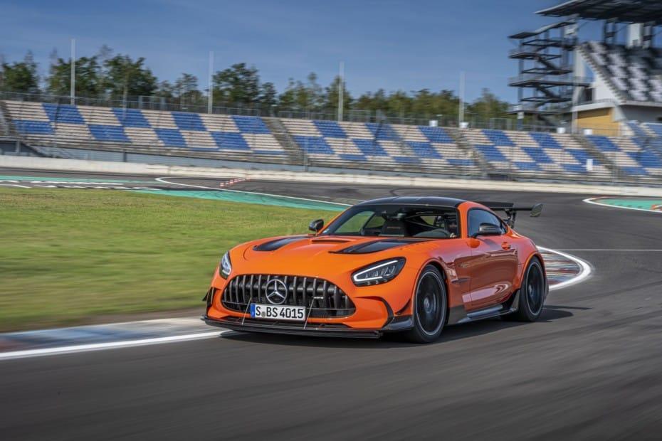 Nuevas imágenes del Mercedes-AMG GT Black Series 2021: La bestia de 730 CV, en detalle