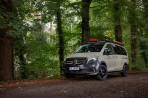 Así es el Mercedes-Benz Clase V GeoTrek camper: La cabra siempre tira al monte