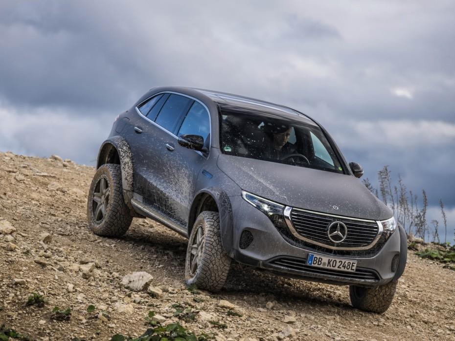 Mercedes-Benz EQC 4×4² 2020: Poderío eléctrico fuera del asfalto