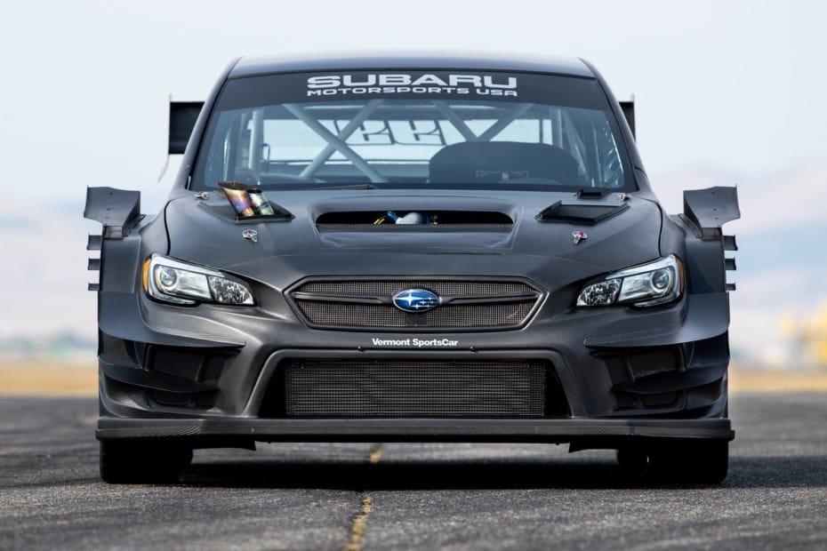 Este es el Subaru WRX STI más bestia: escape que echa llamas por el capó y otras salvajadas…