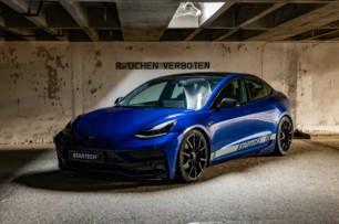Startech le da al Tesla Model 3 la apariencia deportiva definitiva a base de fibra de carbono