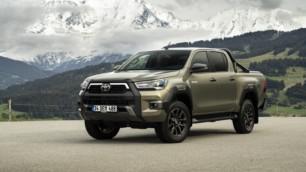 Nuevas imágenes del renovado Toyota Hilux para Europa
