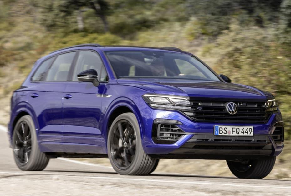 El Volkswagen Touareg estrena versión «R»: Con 462 CV