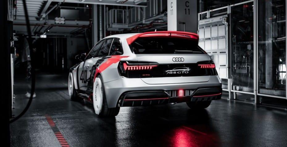 Todas as imagens do imponente Audi RS6 GTO Concept de 600 cv