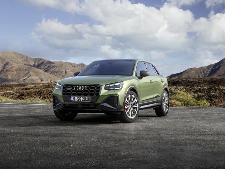Audi refresca el aspecto del SQ2: estas son las novedades técnicas, de equipamiento y diseño