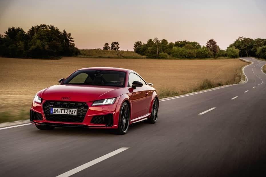 Audi lanza el TTS Competition Plus y nos habla de un «paquete bronce»