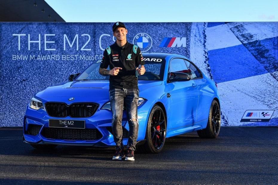 Fabio Quartararo gana el BMW M Award de MotoGP: un espectacular BMW M2 CS