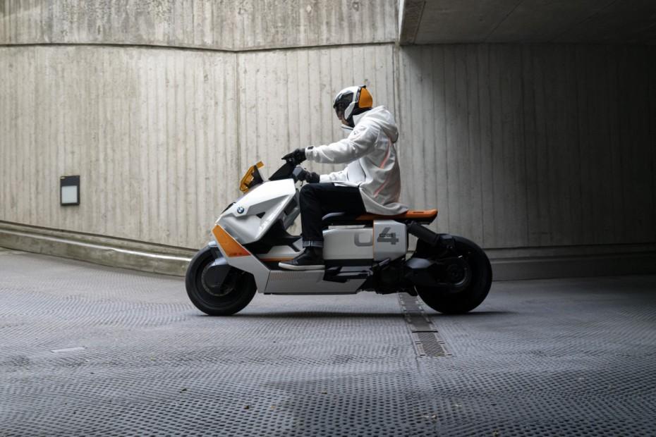 Definition CE 04: el futuro urbano eléctrico según BMW Motorrad