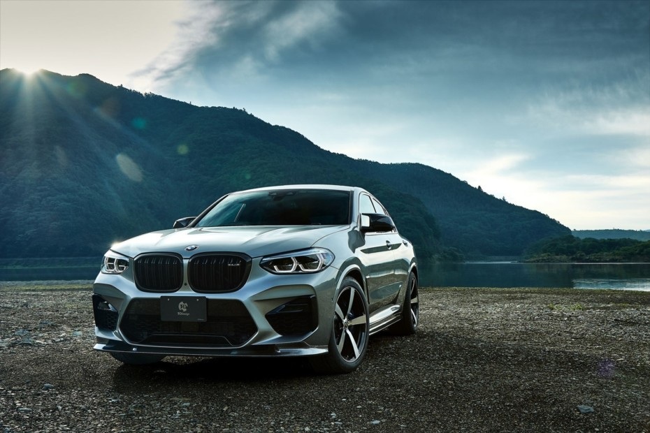 Dieta japonesa rica en fibra para el BMW X4 M: más llamativo, pero discreto
