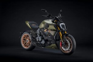 Ducati Diavel 1260 Lamborghini: llantas forjadas, fibra de carbono y un aspecto espectacular