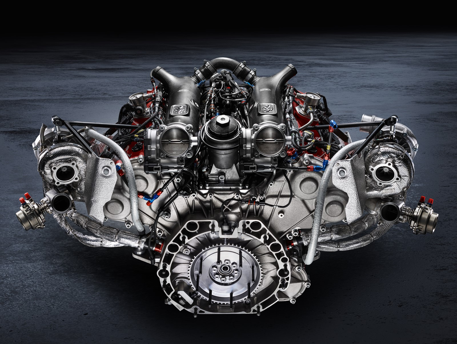 El nuevo Ferrari tendrá un tren motriz híbrido enchufable