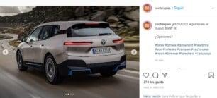 ¡Filtrado! Así es el BMW iX 2021: Hasta 600 km de autonomía y un diseño peculiar