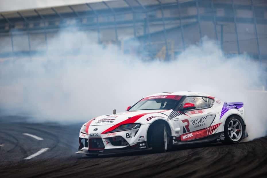 GReddy Performance GR Supra: Drift en estado puro