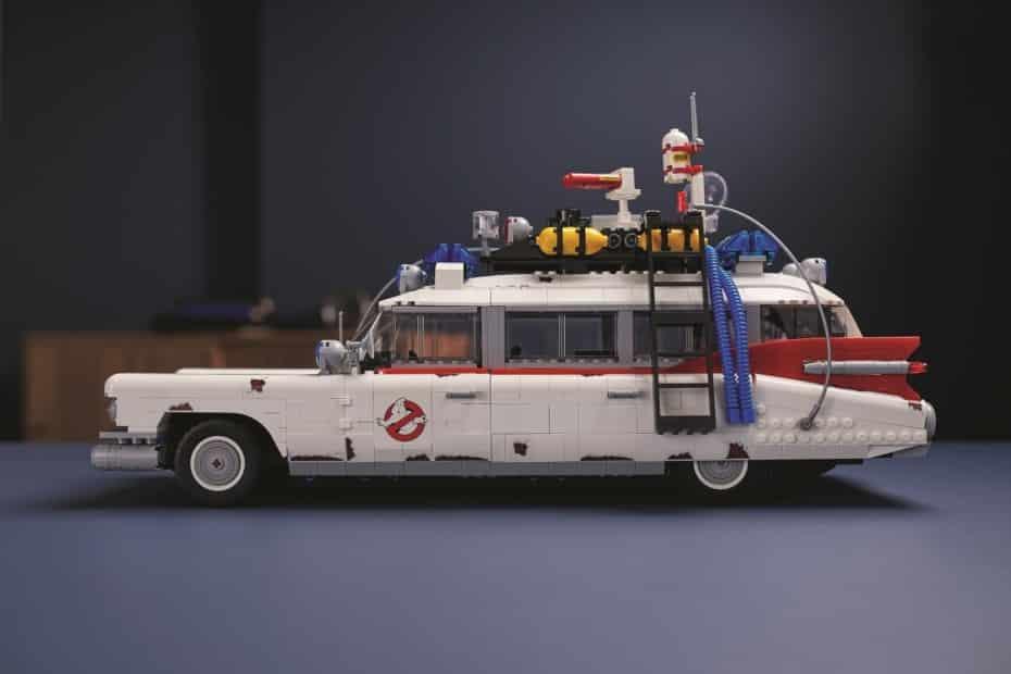 LEGO nos presenta su último SET: Un ECTO-1 de los Cazafantasmas de 47 cm