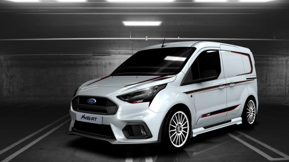 ¿Te aburren las furgos?: Atento a esta Ford Transit Connect de rally llamada MS-RT R120