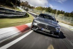 ¡Nuevo tiempazo en Nürburgring!: El Mercedes-AMG GT 63 S 4MATIC+ vuela