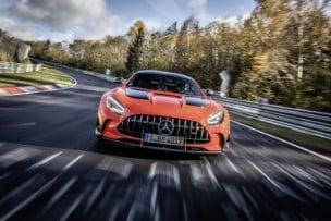 ¡Nuevo récord!: El Mercedes-AMG GT Black Series rompe el crono de Nürburgring
