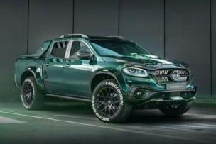 Mercedes-Benz Clase X Racing Green Edition: dieta rica en fibra y un degradado único en la carrocería