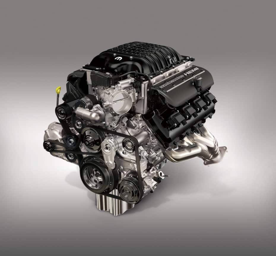 Mopar presenta el Hellcrate Redeye, un nuevo motor HEMI de 818 CV por 18.330 euros