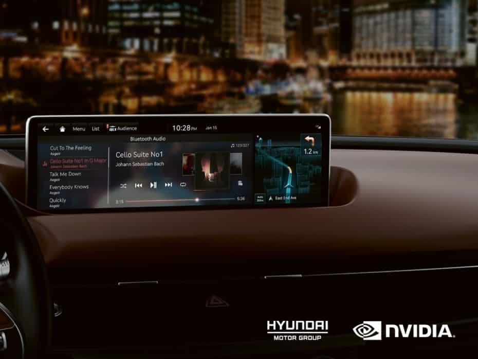 Se llama NVIDIA Drive y es lo último que montará KIA y Hyundai en todos sus modelos