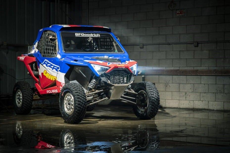 Se llama RZR Pro XP y es la bestia con la que Polaris irá al Dakar