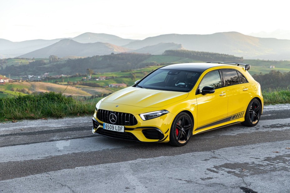 Prueba Mercedes-AMG A 45 S 4MATIC+ 2020: Os costará llegar a entenderos, pero disfrutaréis juntos