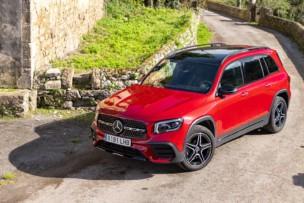 Prueba Mercedes-Benz GLB 200 7 plazas 2020: no decepciona en los largos viajes en familia