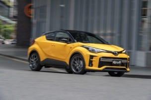 Nuevas imágenes del Toyota C-HR GR SPORT, más deportivo gracias a los nuevos colores...