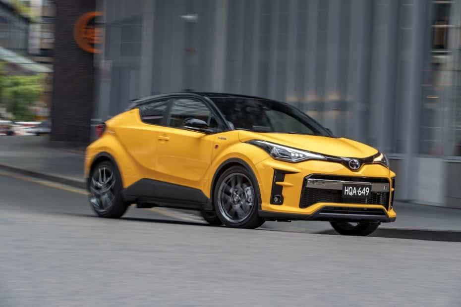 Nuevas imágenes del Toyota C-HR GR SPORT, más deportivo gracias a los nuevos colores…