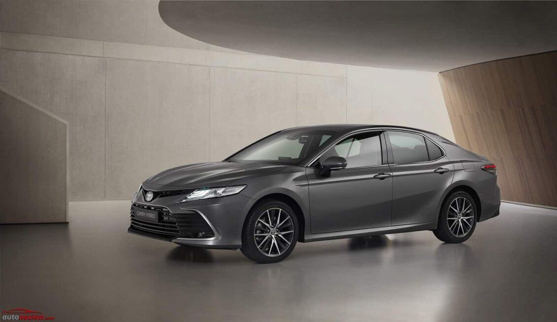 El Toyota Camry europeo se renueva: estos son los cambios