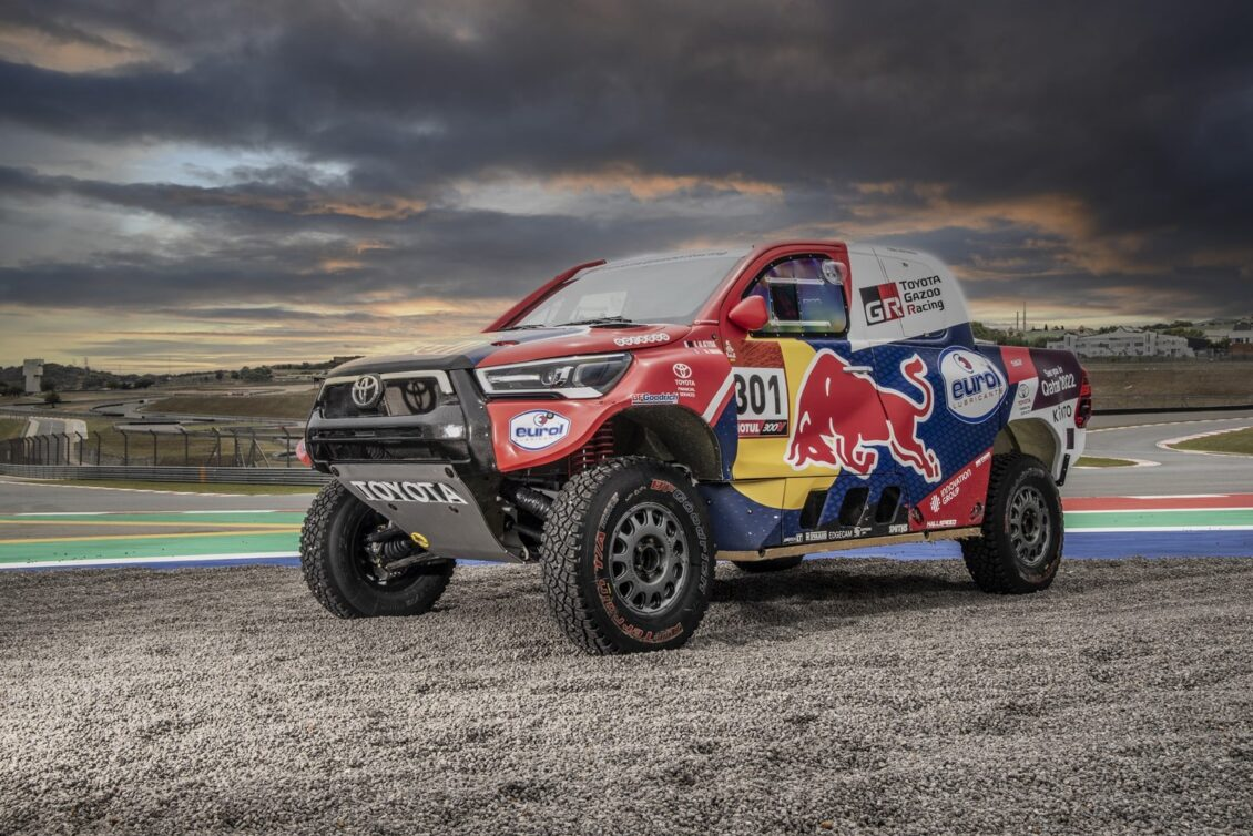 Así es el Hilux que Toyota llevará al Dakar 2021