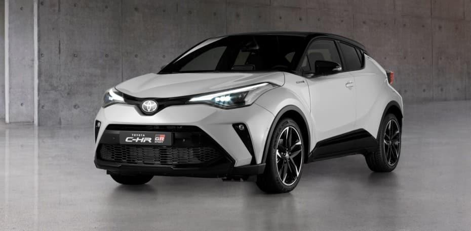 Así luce el Toyota C-HR GR-Sport de 184 CV: todas las imágenes de la versión europea