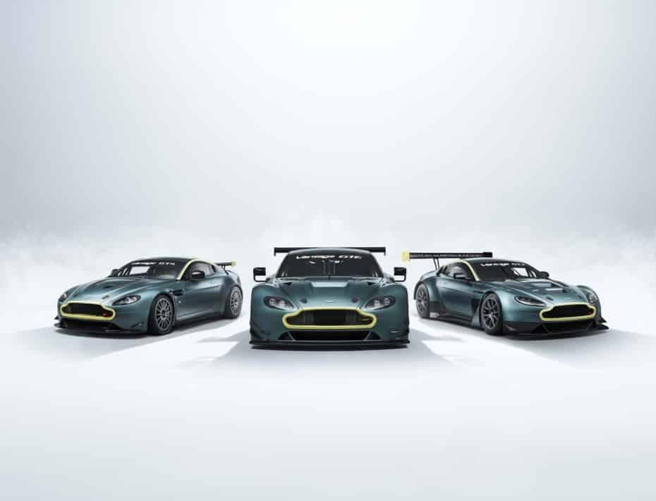 Vantage Legacy Collection: Aston Martin te vende una colección de ganadores