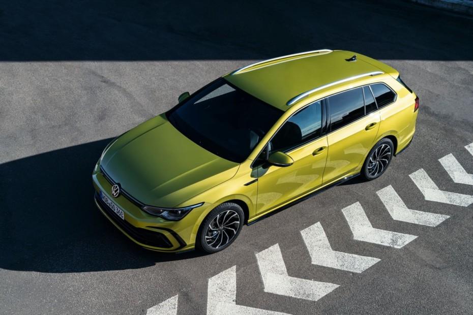 Nuevas imágenes del Volkswagen Golf Variant 2020: Sobredosis de espacio y entorno digital
