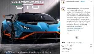 ¡Filtrado! Así es el Lamborghini Huracan STO que debutará esta tarde