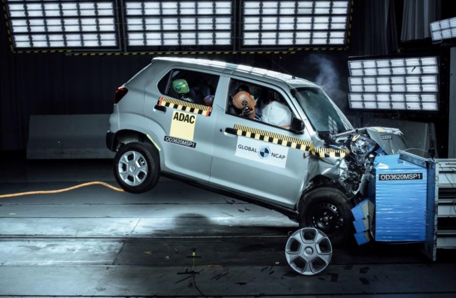 Otro crash test con 0 estrellas de marcas que también venden en Europa…