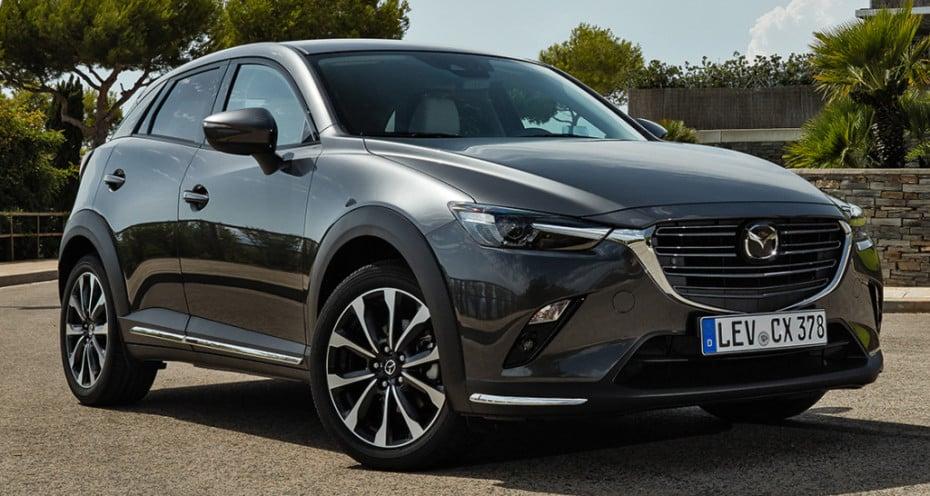 Ligera actualización para el Mazda CX-3: Ya a la venta