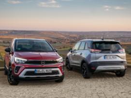Nuevas imágenes del renovado Opel Crossland; ¿te gustan los cambios?